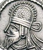 Coin of Artabanus IV.