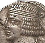 Coin of the Parthian king Phraataces.