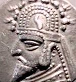 Coin of Mithradates II.